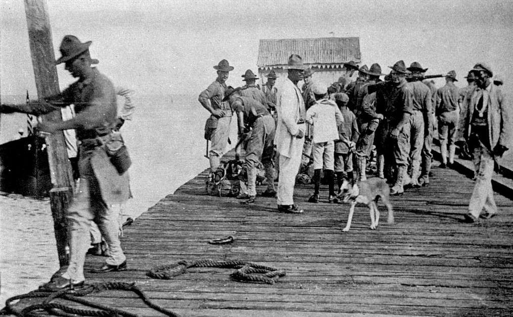 Centenario de la invasión yanqui de 1916