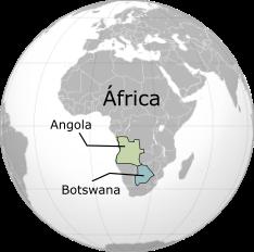 Angola y Botswana