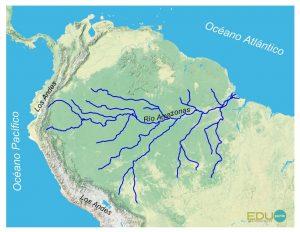 hidrografia, amazonas, america del sur, sudamerica, rio, cuenca