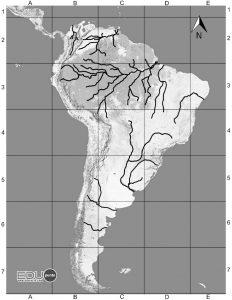 hidrografia, CAUCE, america del sur, sudamerica ,rio, cuenca