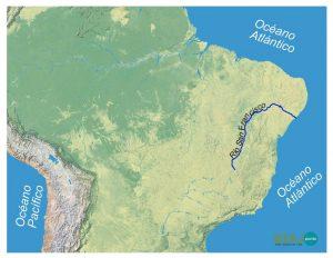 hidrografia, san francisco, america del sur, sudamerica ,rio, cuenca