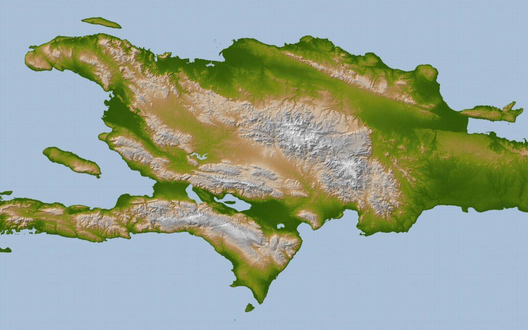Geografía de la Isla de Santo Domingo